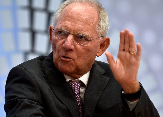 Finanzminister Wolfgang Schäuble während des jährlichen Treffens zwischen Weltwährungsfonds und Weltbank im vergangenen Oktober in Washington, D.C. © James Lawler Duggan/Reuters
